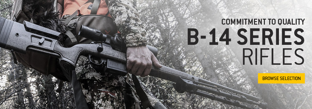 View our B-14 series of rifles